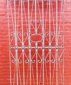 Antique ornamental fence-1