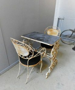 Garden table & 2 chairs-5