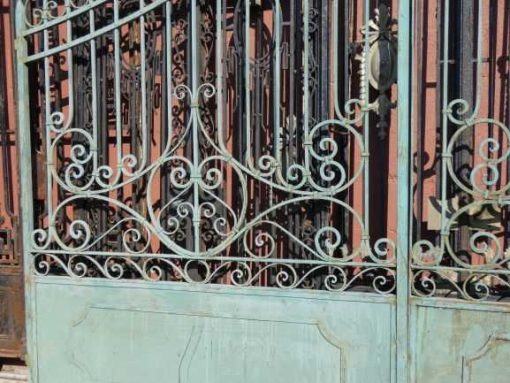 Wrought iron gate-2