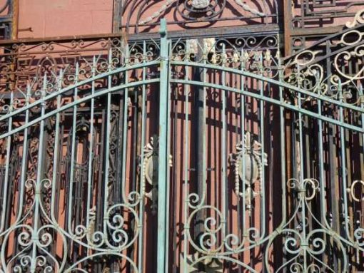 Wrought iron gate-3