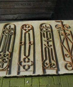 Antique wrought iron balustrade fences-1
