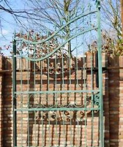 Wrought iron gate-1