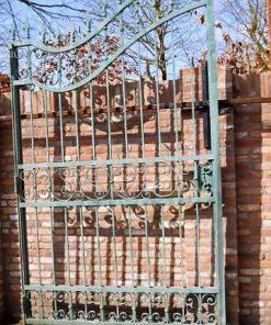 Wrought iron gate-3