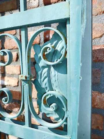 Wrought iron gate-4