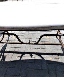Oval garden table-3