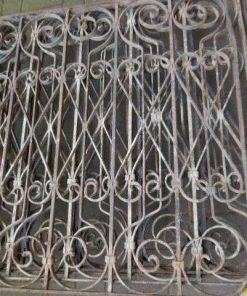 Antique handicraft balcony fence-2