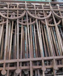 Antique art deco balcony fence-1