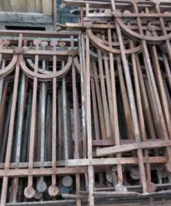 Antique art deco balcony fence-2