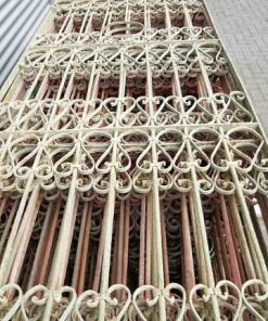 Antique wrought iron decorative fences-2