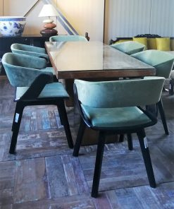 Antique dining room chairs-1