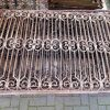 Antique wrought iron fence - 1
