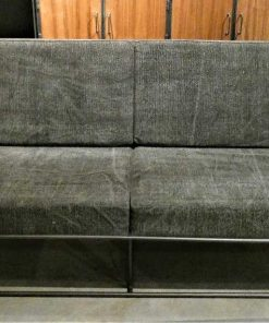 Dark grey 2-seater Couch-1
