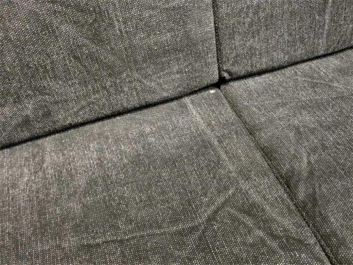 Dark grey 2-seater Couch-2