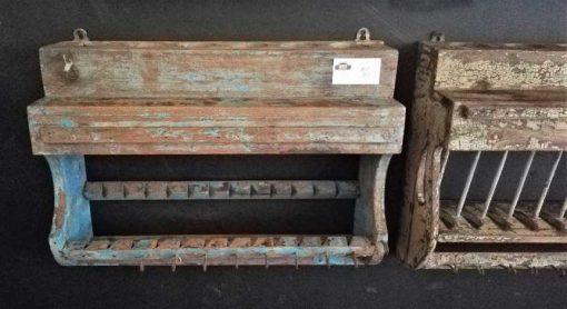 Vintage wooden kitchen racks-4
