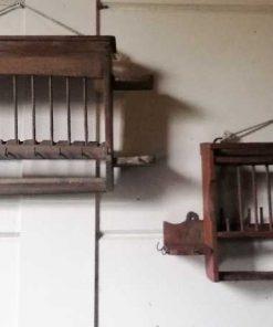 Vintage Holz-Küchenregale-5