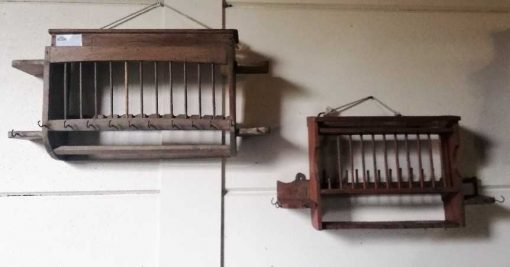Vintage wooden kitchen racks-5