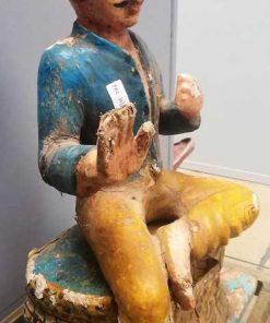Alte indische Statue-3