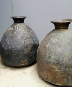 Antique bronze pots / jars-1