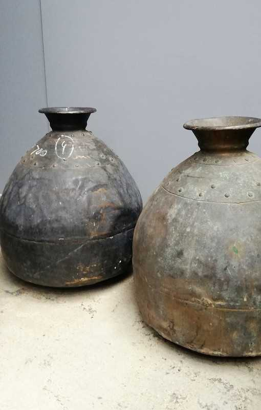 Antique bronze pots / jars-1