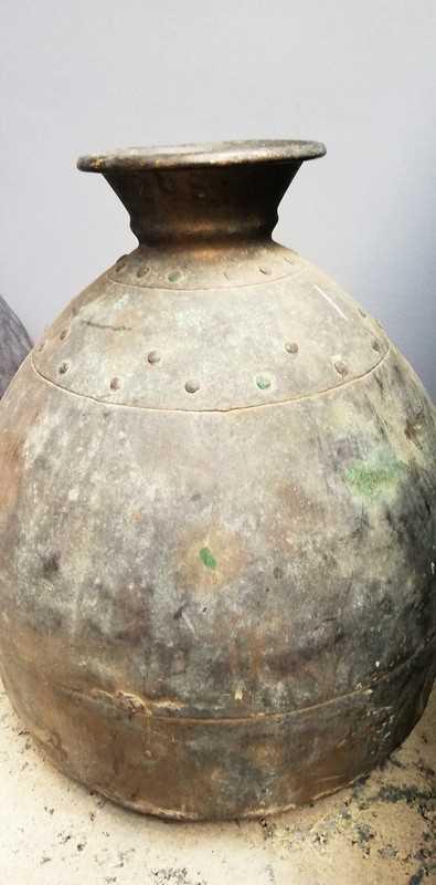 Antique bronze pots / jars-2