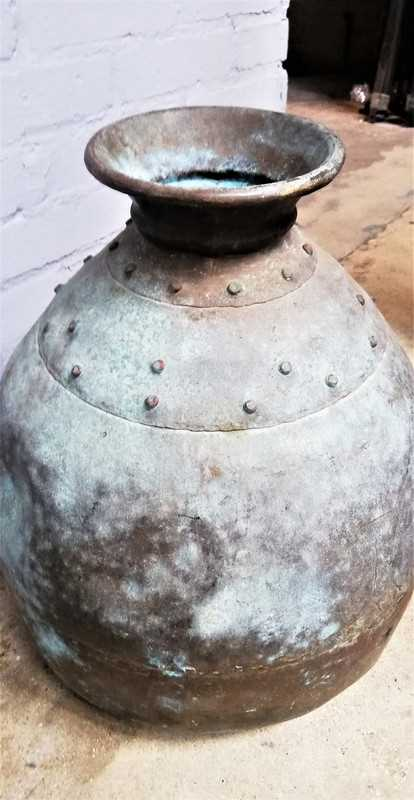Antique bronze pots / jars-4