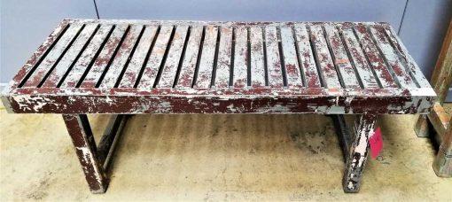 Vintage-Holzbank/Tisch-1