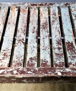 Vintage wooden bench / table-3