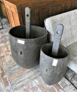 Oude houten potten-1