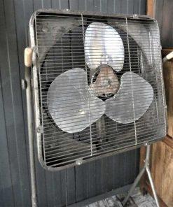 Antieke vintage staande ventilator-3