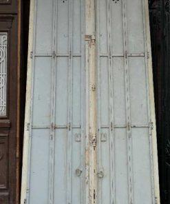 Grote spiegel in kozijn van antieke deur-5