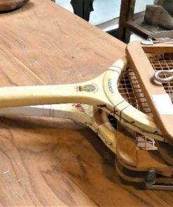Oude Slazenger tennis racket-1