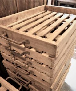 Vintage-Holztablett / Schale / Kiste-2