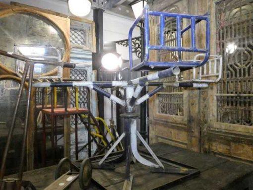 Vintage iron merry-go-round-2