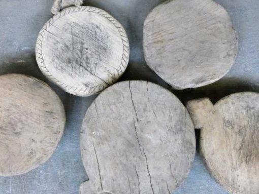 Wooden chapati plates-3