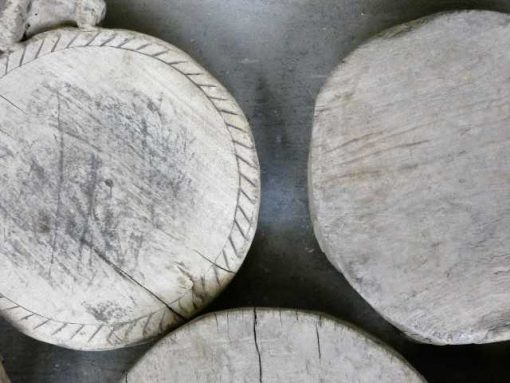 Wooden chapati plates-4
