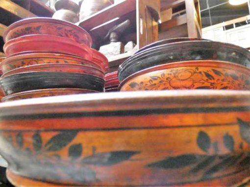 Vintage houten bordjes-3