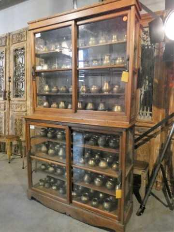 Antieke koperen potjes-2