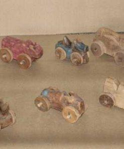 Handgemaakte houten autootjes-2