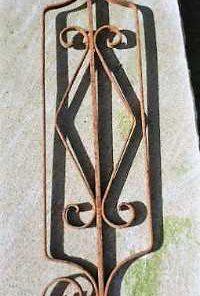 Antique wrought iron ornamental fences-5