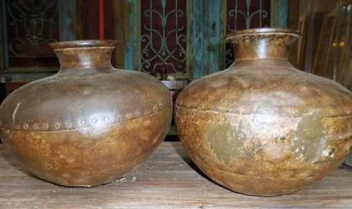 Iron water pitchers / jars / vases-1