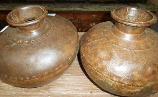 Iron water pitchers / jars / vases-3