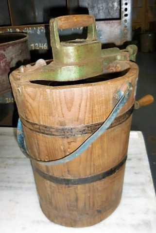 Antique wooden churn-2
