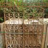 Antique wrought iron ornamental fences-1