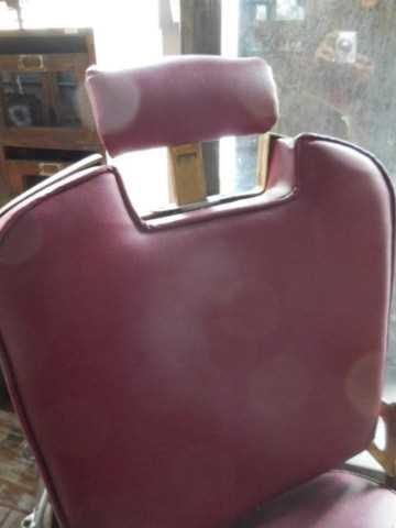 Antique refurbished barber / hairdresser chair-4