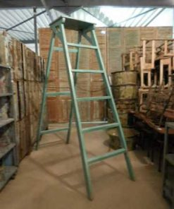 Old refurbished library ladder-1