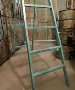 Old refurbished library ladder-3