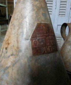 Vintage zinc watering can / jug-2