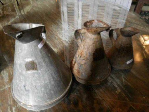 Vintage zinc watering can / jug-3