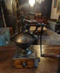 Antique coffee grinder-2