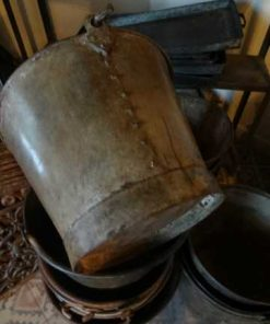 Old zinc and metal buckets-2